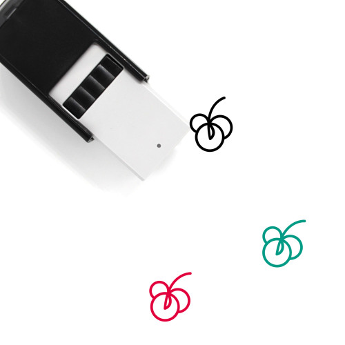 Fruit Self-Inking Rubber Stamp No. 160
