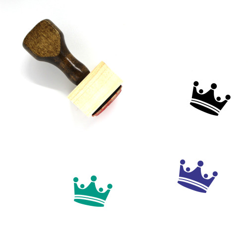 King Wooden Rubber Stamp No. 412