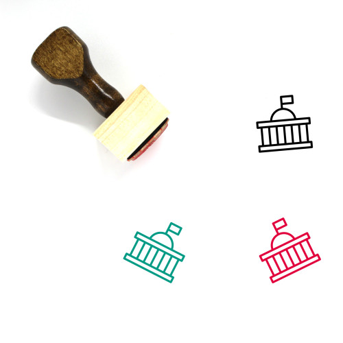 Government Wooden Rubber Stamp No. 116
