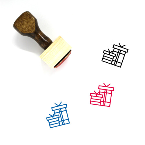 Gifts Wooden Rubber Stamp No. 40