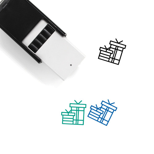 Gifts Self-Inking Rubber Stamp No. 40