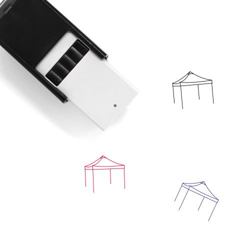 Canopy Self-Inking Rubber Stamp No. 12