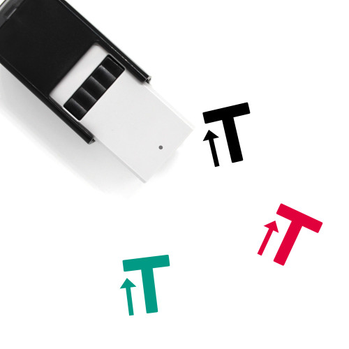Text Size Self-Inking Rubber Stamp No. 1