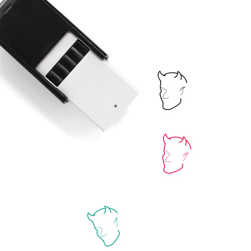 Demon Self-Inking Rubber Stamp No. 9