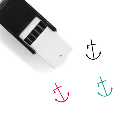 Anchor Self-Inking Rubber Stamp No. 589