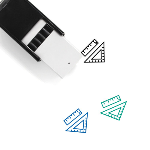 Rulers Self-Inking Rubber Stamp No. 29