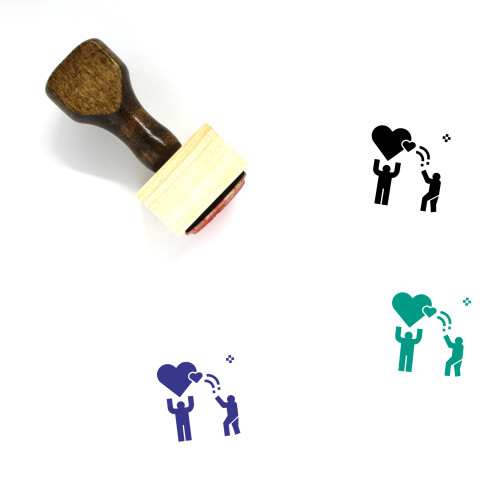 Trust Wooden Rubber Stamp No. 13