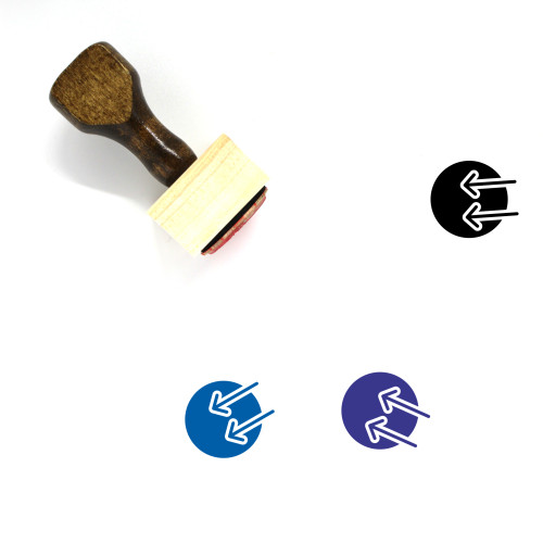 Import Wooden Rubber Stamp No. 41