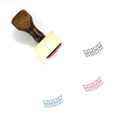Decoration Wooden Rubber Stamp No. 298