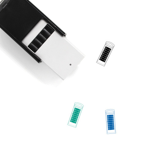 Phone Booth Self-Inking Rubber Stamp No. 16