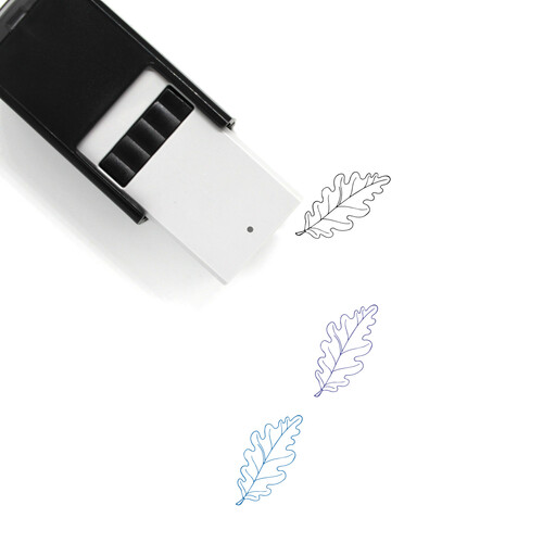 Autumn Leaf Self-Inking Rubber Stamp No. 36