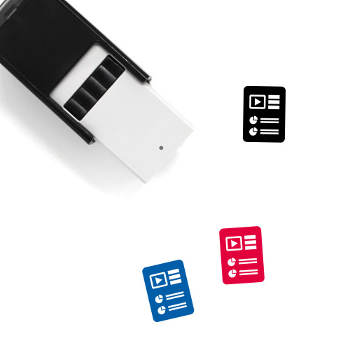 Report Document Self-Inking Rubber Stamp No. 42