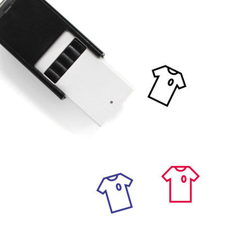 Soccer Jersey Self-Inking Rubber Stamp No. 2