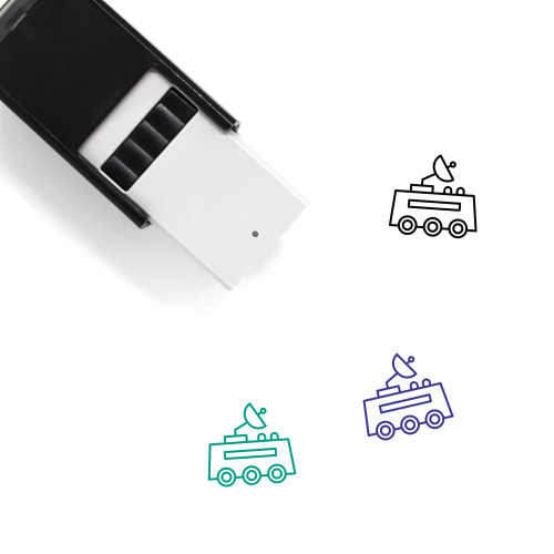 Space Travel Self-Inking Rubber Stamp No. 2