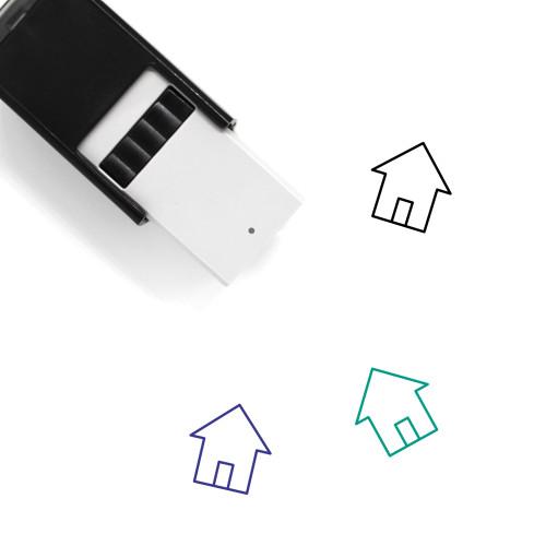 Simple House Self-Inking Rubber Stamp No. 1