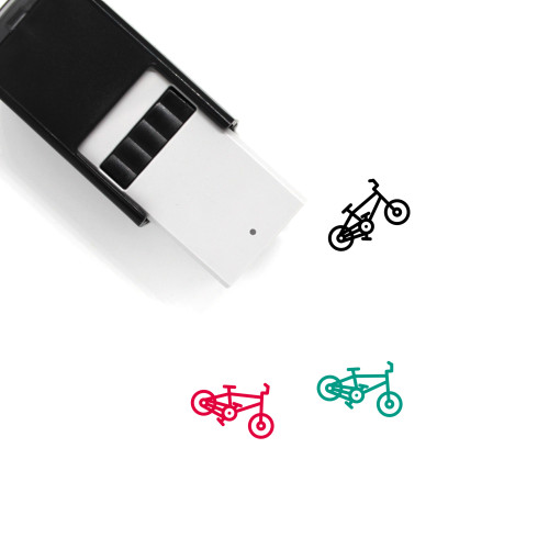 Cycling Self-Inking Rubber Stamp No. 41
