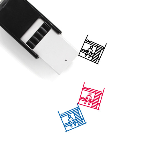 Hostel Self-Inking Rubber Stamp No. 17
