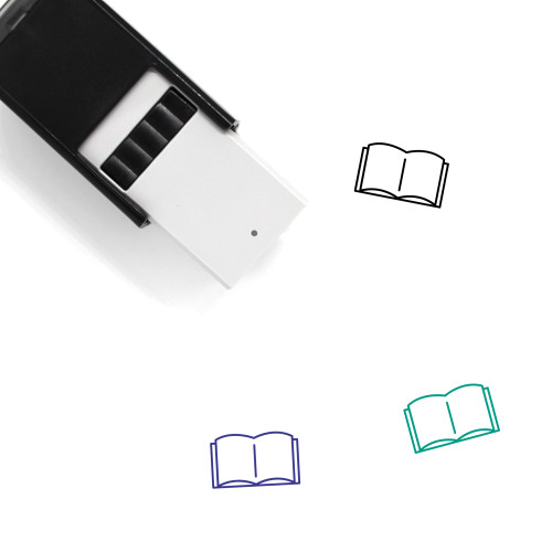 Book Self-Inking Rubber Stamp No. 716