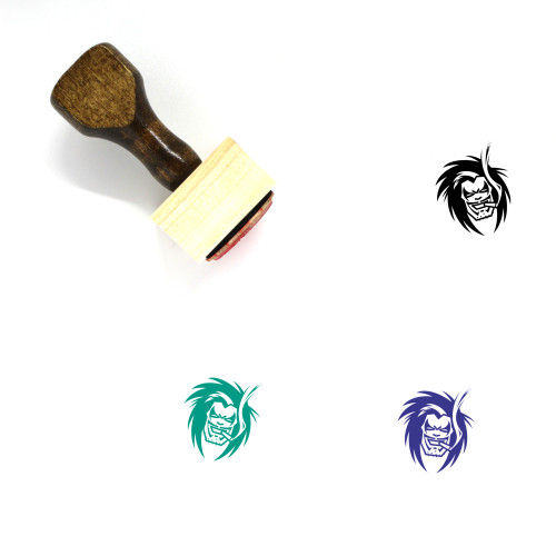 Lobo Wooden Rubber Stamp No. 2