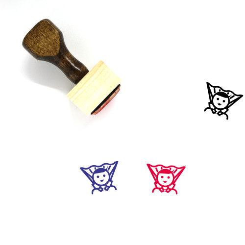 Dracula Wooden Rubber Stamp No. 6