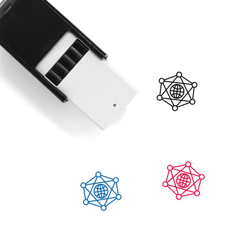 Global Network Self-Inking Rubber Stamp No. 53