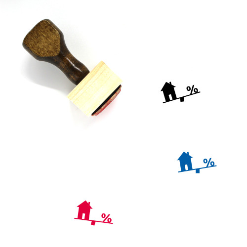 Mortgage Wooden Rubber Stamp No. 65