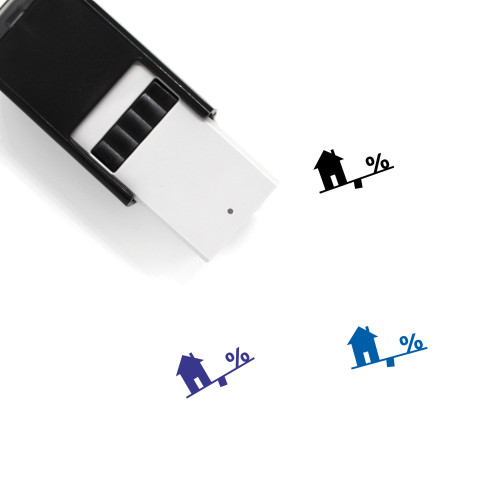 Mortgage Self-Inking Rubber Stamp No. 65