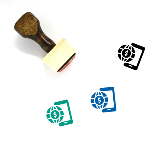 Global Business Wooden Rubber Stamp No. 38