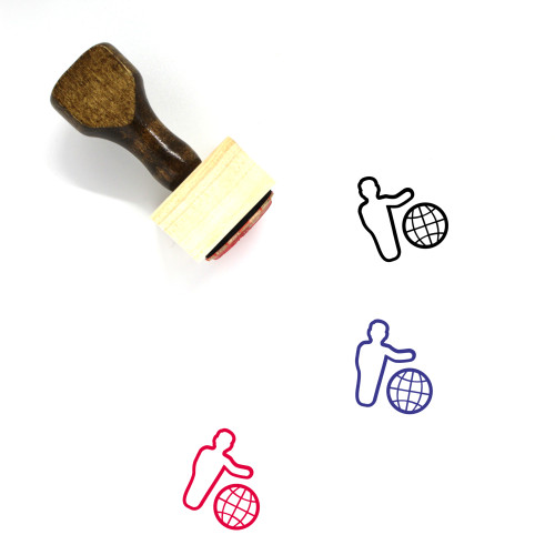 Business Communication Wooden Rubber Stamp No. 17