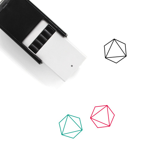 Octahedron Self-Inking Rubber Stamp No. 11