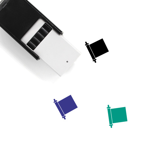 Scroll Self-Inking Rubber Stamp No. 50