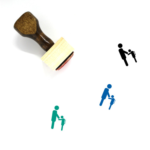 Send Off Student Wooden Rubber Stamp No. 1