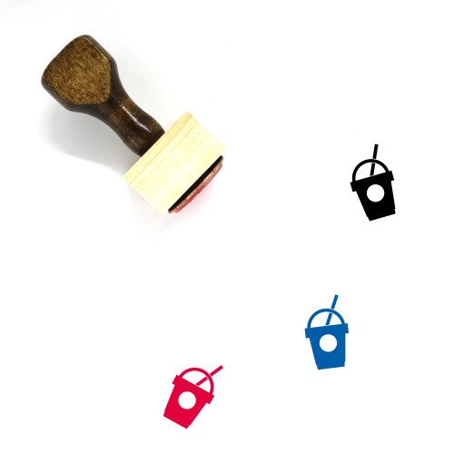 Smoothie Wooden Rubber Stamp No. 38