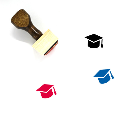 University Wooden Rubber Stamp No. 48