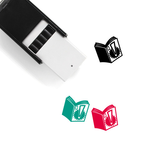 Comic Book Self-Inking Rubber Stamp No. 1