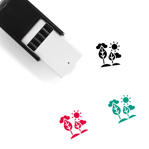 Wildlife Self-Inking Rubber Stamp No. 1
