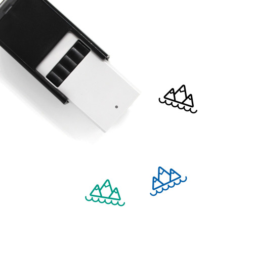 Mountains Self-Inking Rubber Stamp No. 285