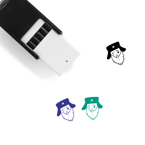 Old Man Self-Inking Rubber Stamp No. 60