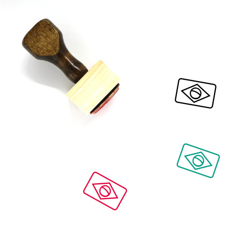 Brazil Wooden Rubber Stamp No. 41