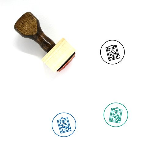 Analysis Wooden Rubber Stamp No. 74