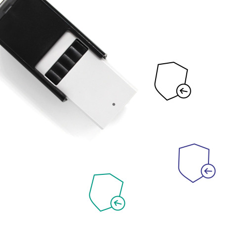 Import Security Self-Inking Rubber Stamp No. 1