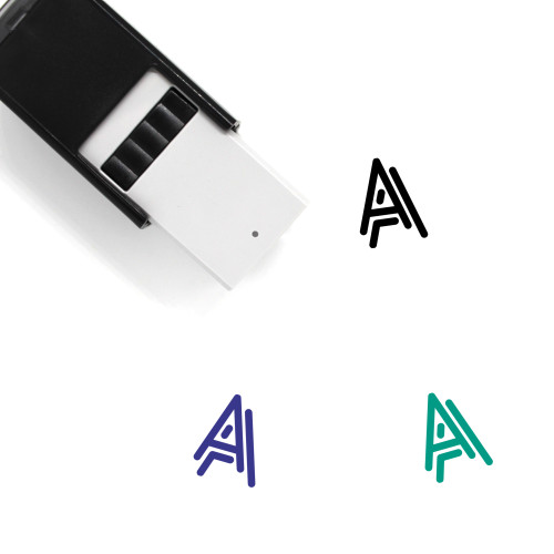 Text Effect Self-Inking Rubber Stamp No. 3