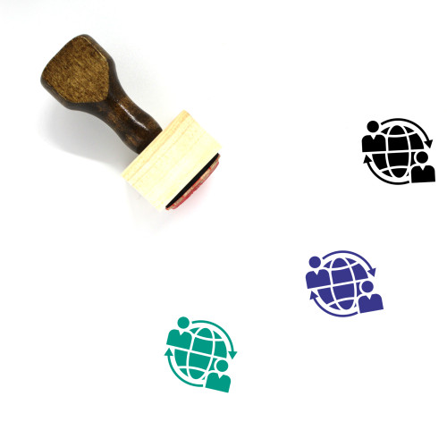 Global Business Wooden Rubber Stamp No. 39