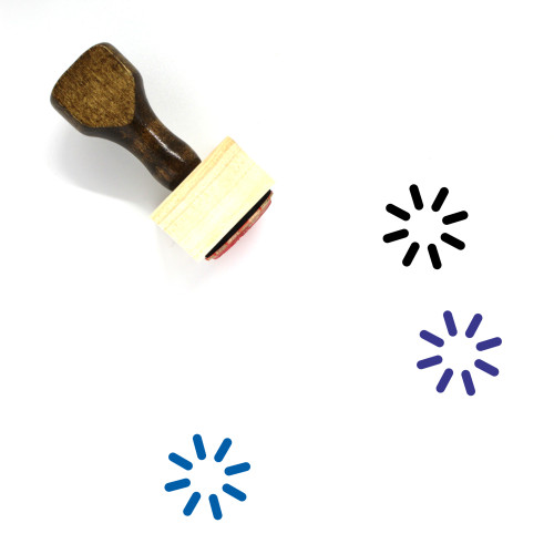 Loading Wooden Rubber Stamp No. 80