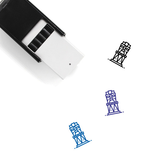 Statue Self-Inking Rubber Stamp No. 39