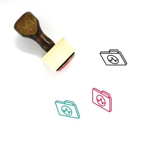 Sounds Wooden Rubber Stamp No. 6