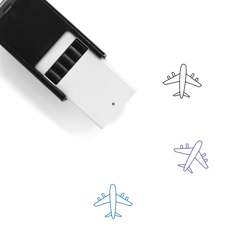 Air Travel Self-Inking Rubber Stamp No. 12