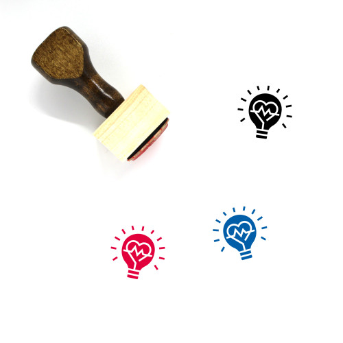Medical Innovations Wooden Rubber Stamp No. 1