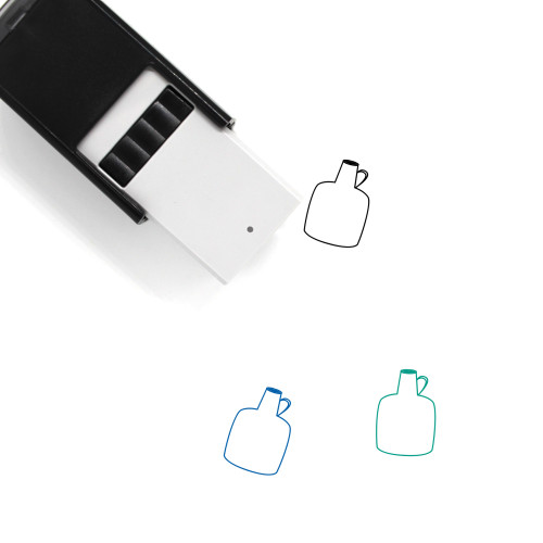 Bottle Self-Inking Rubber Stamp No. 277