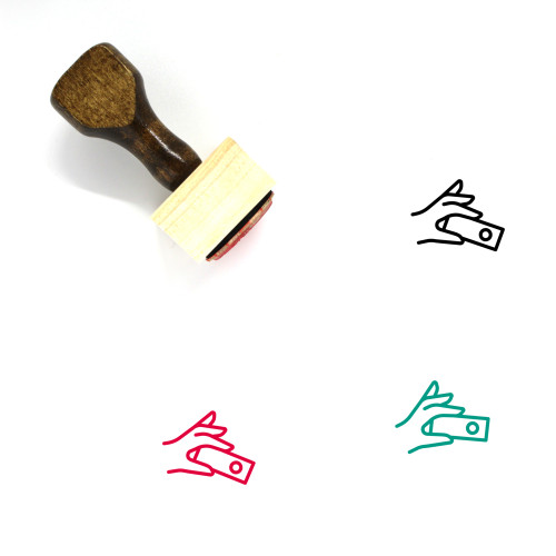 Sample Wooden Rubber Stamp No. 18